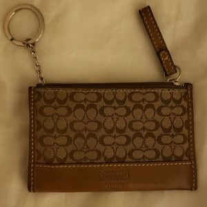 Coach Signature Card Wallet
